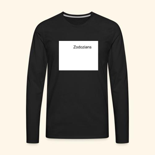 Untitled drawing - Men's Premium Long Sleeve T-Shirt