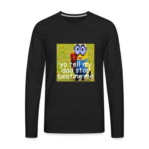 minion3 - Men's Premium Long Sleeve T-Shirt