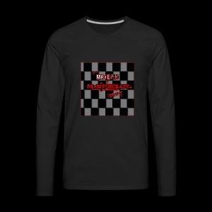 Mr blak & Dr Bitchcraft shirt - Men's Premium Long Sleeve T-Shirt
