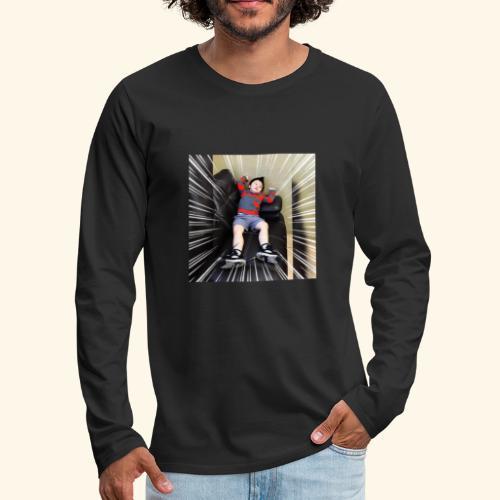 Lazy - Men's Premium Long Sleeve T-Shirt
