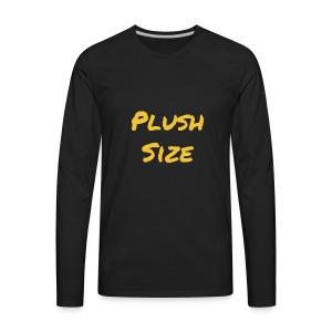 Plush Size - Men's Premium Long Sleeve T-Shirt
