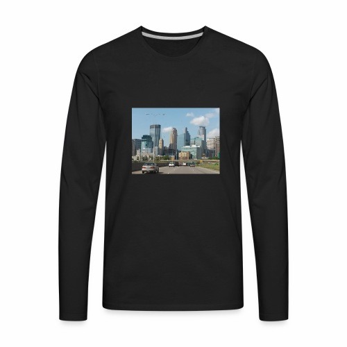 Minneapolis - Men's Premium Long Sleeve T-Shirt
