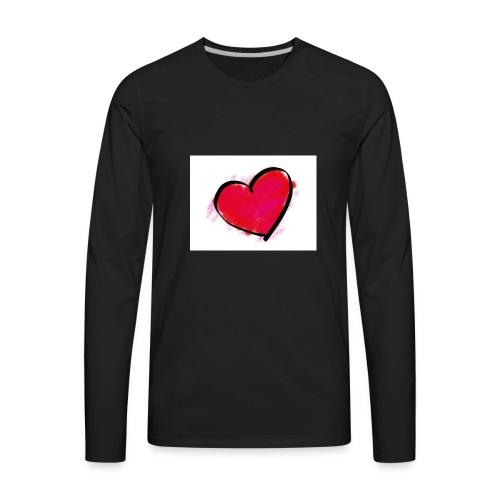 heart 192957 960 720 - Men's Premium Long Sleeve T-Shirt