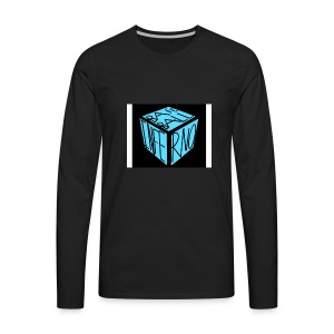 baseball inferno 1 - Men's Premium Long Sleeve T-Shirt
