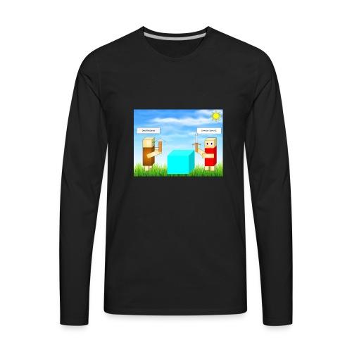 everyday gamer and devinthegamer merchandise - Men's Premium Long Sleeve T-Shirt