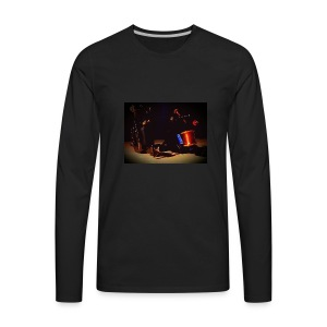 self taken picture - Men's Premium Long Sleeve T-Shirt