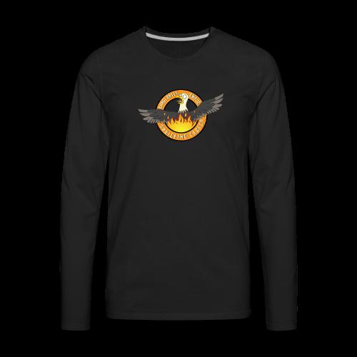 Constantly Awful Logo - Men's Premium Long Sleeve T-Shirt