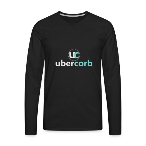 Vertical Logo Set - Men's Premium Long Sleeve T-Shirt