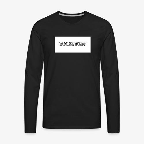 wordlwide - Men's Premium Long Sleeve T-Shirt