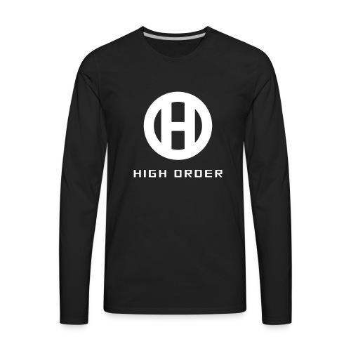 HIGH ORDER CLASSIC WHITE - Men's Premium Long Sleeve T-Shirt