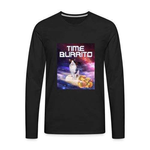 Time Burrito - Men's Premium Long Sleeve T-Shirt