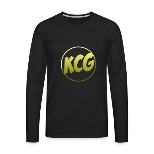 KingCyrus logo - Men's Premium Long Sleeve T-Shirt