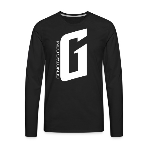 White G - Men's Premium Long Sleeve T-Shirt