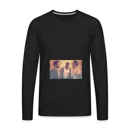 GTA V DA - Men's Premium Long Sleeve T-Shirt