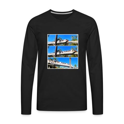 monorail - Men's Premium Long Sleeve T-Shirt