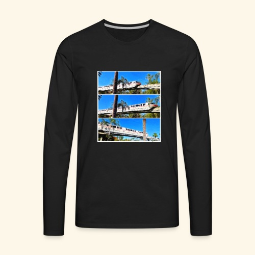 monorail - Men's Premium Long Sleeve T-Shirt