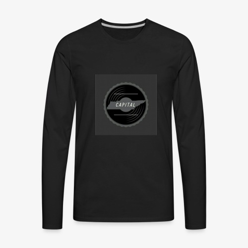 CAPITAL LOGO - Men's Premium Long Sleeve T-Shirt