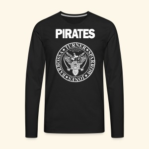 Punk Rock Pirates [heroes] - Men's Premium Long Sleeve T-Shirt