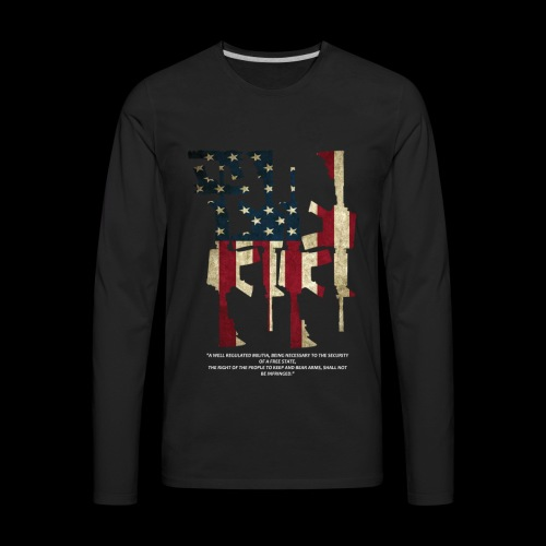 The 2nd Right is Best Right - Men's Premium Long Sleeve T-Shirt