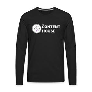 TCH Logo Standard - Men's Premium Long Sleeve T-Shirt