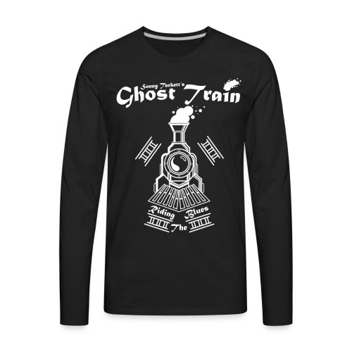 SonnyTackett'sGhostTrain - Men's Premium Long Sleeve T-Shirt