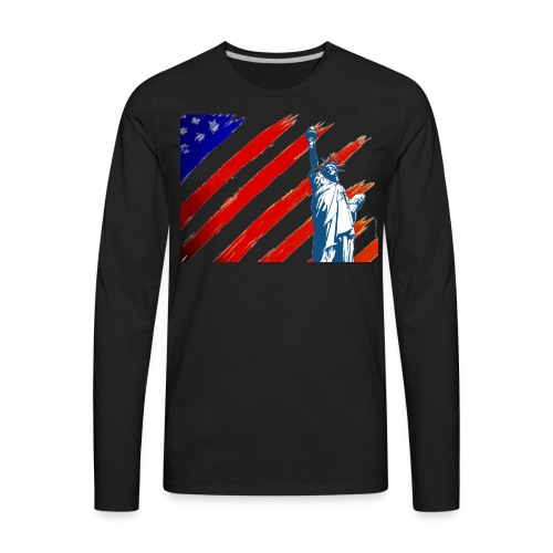 American Liberty - Men's Premium Long Sleeve T-Shirt