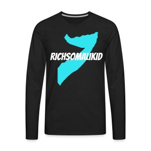 Richsomalikid Somali - Men's Premium Long Sleeve T-Shirt