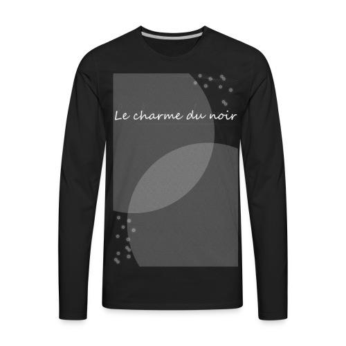 LE CHARME DU NOIR AMOUR - Men's Premium Long Sleeve T-Shirt
