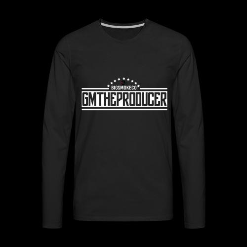 GMTP (White) - Men's Premium Long Sleeve T-Shirt