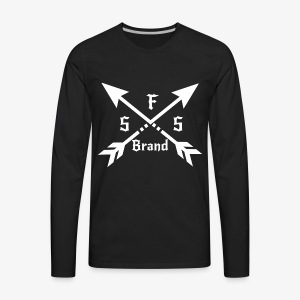 SFS Co. Logo - Men's Premium Long Sleeve T-Shirt