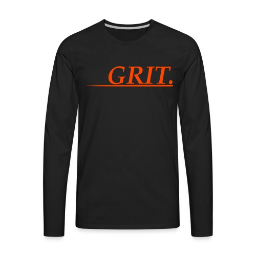 GRIT. - Men's Premium Long Sleeve T-Shirt