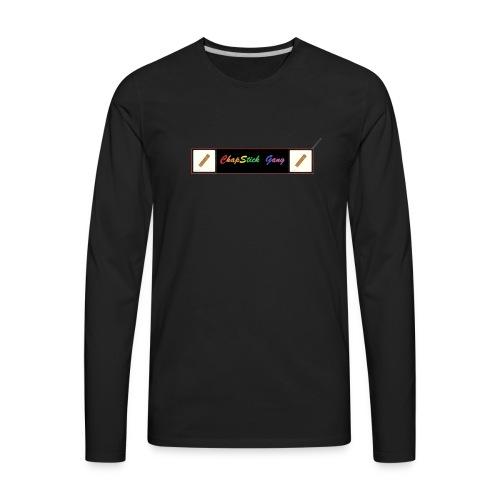 Chapstick Gang Merch - Men's Premium Long Sleeve T-Shirt
