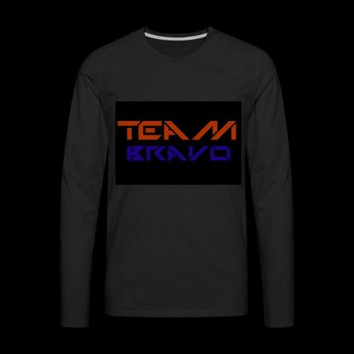 Team Bravo - Men's Premium Long Sleeve T-Shirt
