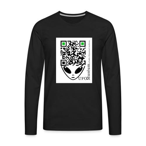 UFO Muséum Public Historical Archives - Men's Premium Long Sleeve T-Shirt