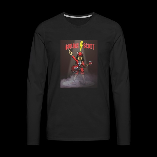 Bonnie Scott Band T Shirt - Men's Premium Long Sleeve T-Shirt