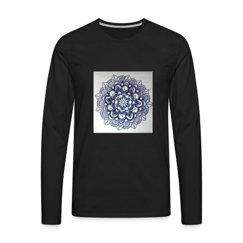 Pattern - Men's Premium Long Sleeve T-Shirt