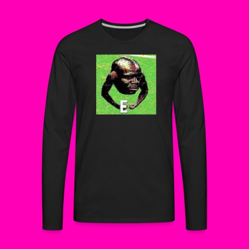 E - Men's Premium Long Sleeve T-Shirt