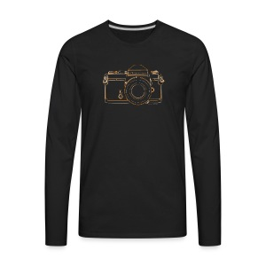 GAS - Nikkormat - Men's Premium Long Sleeve T-Shirt