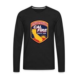 calfire logo T-shirt - Men's Premium Long Sleeve T-Shirt