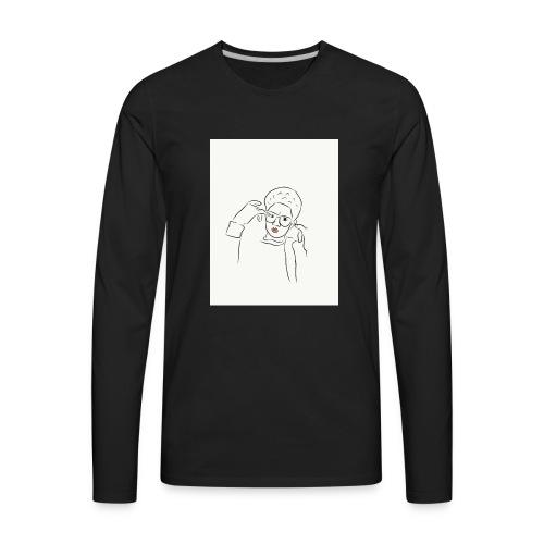 Joshwifibox - Men's Premium Long Sleeve T-Shirt