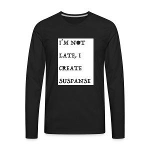 MORSE 3 - Men's Premium Long Sleeve T-Shirt