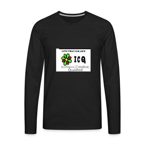 bunk new ICQ edited 33 - Men's Premium Long Sleeve T-Shirt