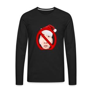Christmas Ricegum Not Allowed - Men's Premium Long Sleeve T-Shirt