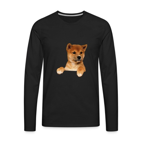adopt dont shop - Men's Premium Long Sleeve T-Shirt