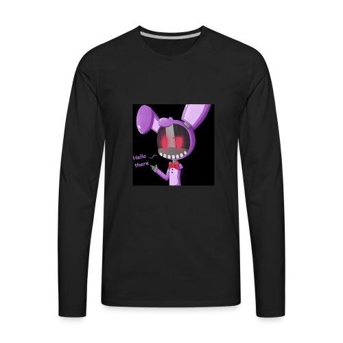 Bonnie vlogs merch - Men's Premium Long Sleeve T-Shirt