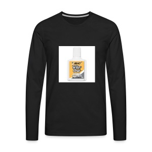 Traditional White Out Tee - Men's Premium Long Sleeve T-Shirt