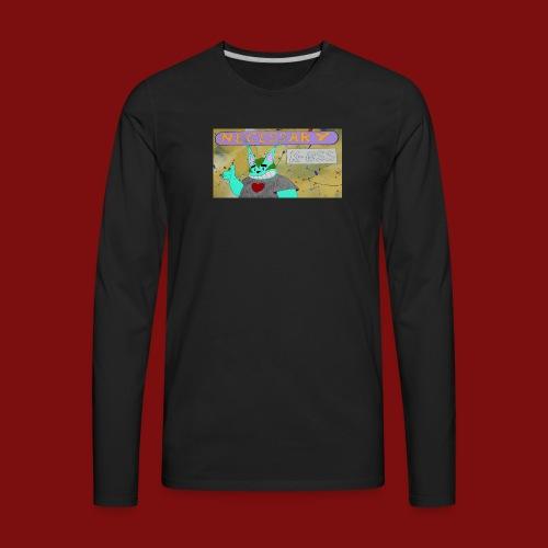K-0SS Kat and necessary k-0SS header - Men's Premium Long Sleeve T-Shirt
