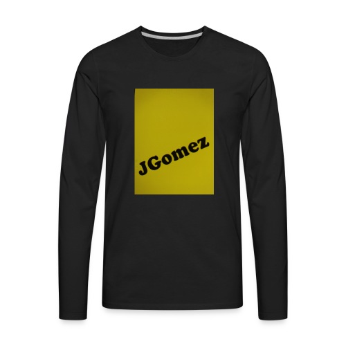 J Gomez.com sells all clothing for cheap. - Men's Premium Long Sleeve T-Shirt