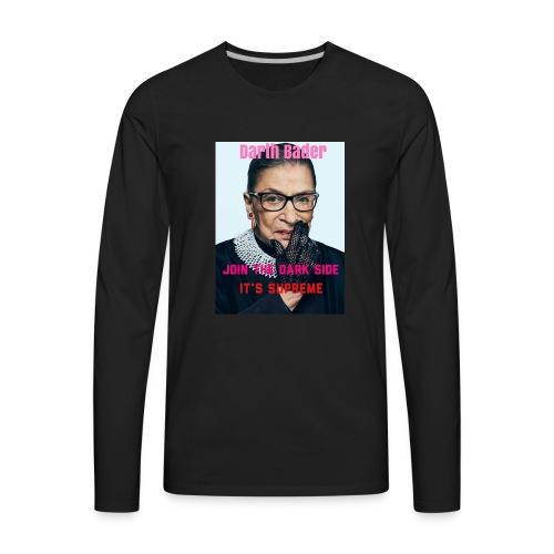 Darth Bader - Men's Premium Long Sleeve T-Shirt