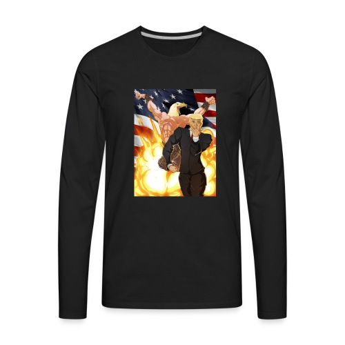 Trumps stand - Men's Premium Long Sleeve T-Shirt